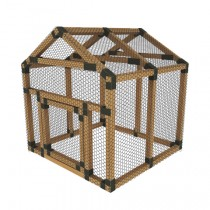 38X38 E-Z Frame Chicken Run Kit