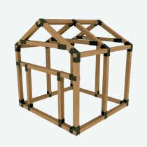 38X38 E-Z Frame Pet House Kit